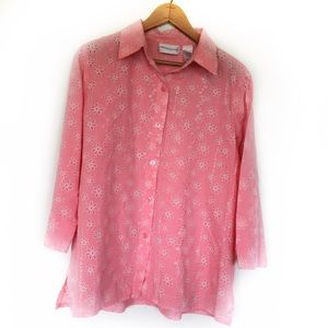 ⭐️SALE⭐️ Alfred Dunner Button Up Blouse